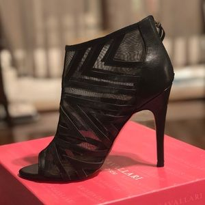 Chinese Laundry Peep Toe Cage Booties